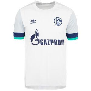 FC Schalke 04 Trikot Away 2019/2020 Herren, weiß / blau, zoom bei OUTFITTER Online