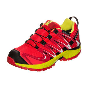 XA PRO 3D CSWP Trail Laufschuh Kinder, Rot, zoom bei OUTFITTER Online