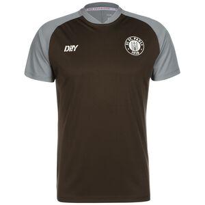 Team Trainingsshirt, braun / grau, zoom bei OUTFITTER Online