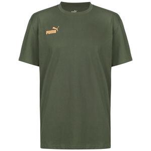 ftblNXT Casuals Trainingsshirt Herren, graugrün / orange, zoom bei OUTFITTER Online