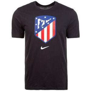 Atletico Madrid Evergreen Crest T-Shirt Herren, schwarz, zoom bei OUTFITTER Online