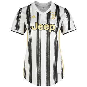 Juventus Turin Trikot Home 2020/2021 Damen, weiß / schwarz, zoom bei OUTFITTER Online