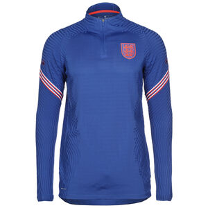England VaporKnit Strike Drill Sweatshirt EM 2021 Herren, blau / rot, zoom bei OUTFITTER Online