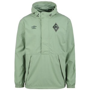 SV Werder Bremen Travel Outdoorjacke Herren, grün, zoom bei OUTFITTER Online
