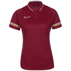 Academy 21 Dry Poloshirt Damen, rot / gold, zoom bei OUTFITTER Online