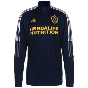LA Galaxy Trainingssweat Herren, dunkelblau / gelb, zoom bei OUTFITTER Online