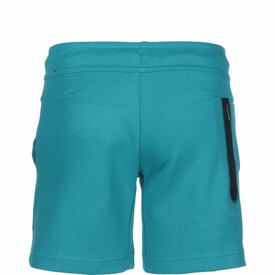 Tech Fleece Shorts Kinder, grün / schwarz, zoom bei OUTFITTER Online