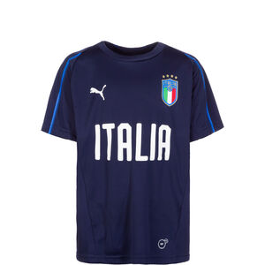FIGC Italien Trainingsshirt Kinder, Blau, zoom bei OUTFITTER Online