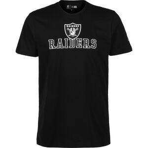 NFL Oakland Raiders Arch Wordmark T-Shirt Herren, schwarz, zoom bei OUTFITTER Online