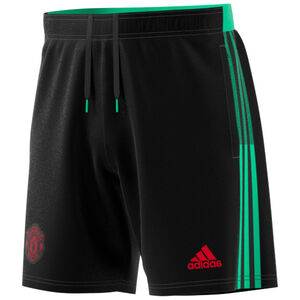 Manchester United Trainingsshorts Herren, schwarz / grün, zoom bei OUTFITTER Online