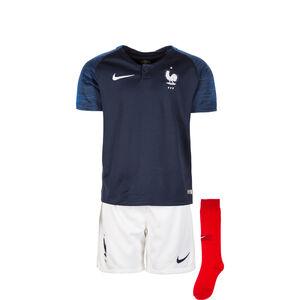 Frankreich Minikit Home Stadium WM 2018 Kinder, Blau, zoom bei OUTFITTER Online