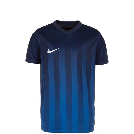 Striped Division II Fußballtrikot Kinder, Blau, zoom bei OUTFITTER Online