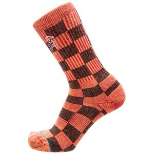 Foundation Santarchy Socken, rot / schwarz, zoom bei OUTFITTER Online