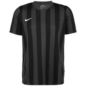 Striped Division IV Fußballtrikot Herren, anthrazit / schwarz, zoom bei OUTFITTER Online