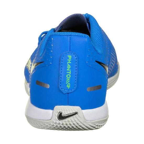 Phantom GT Academy Indoor Fußballschuh Kinder, blau / silber, zoom bei OUTFITTER Online