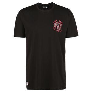 MLB New York Yankees Chain Stitch T-Shirt Herren, schwarz, zoom bei OUTFITTER Online