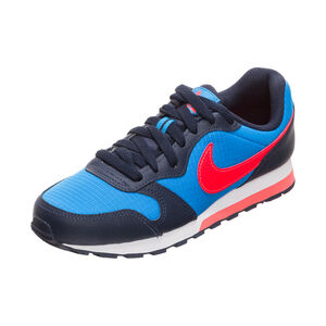 MD Runner 2 Sneaker Kinder, blau / rot, zoom bei OUTFITTER Online