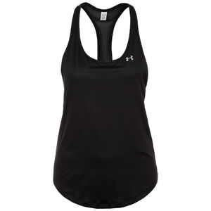 HeatGear Armour Mesh Back Trainingstank Damen, schwarz, zoom bei OUTFITTER Online