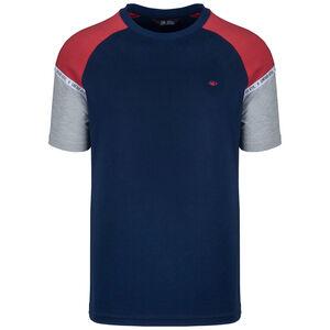 Hash Panel T-Shirt Herren, dunkelblau / rot, zoom bei OUTFITTER Online