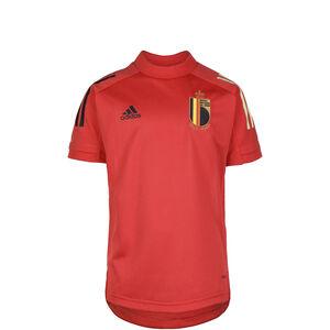 RBFA Belgien Trainingsshirt EM 2021 Kinder, rot / schwarz, zoom bei OUTFITTER Online