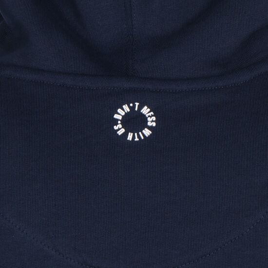 DMWU Kapuzenpullover Herren, dunkelblau / weiß, zoom bei OUTFITTER Online