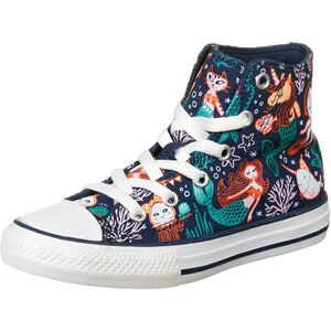 Chuck Taylor All Star Hi Underwater Party Sneaker Kinder, dunkelblau / türkis, zoom bei OUTFITTER Online