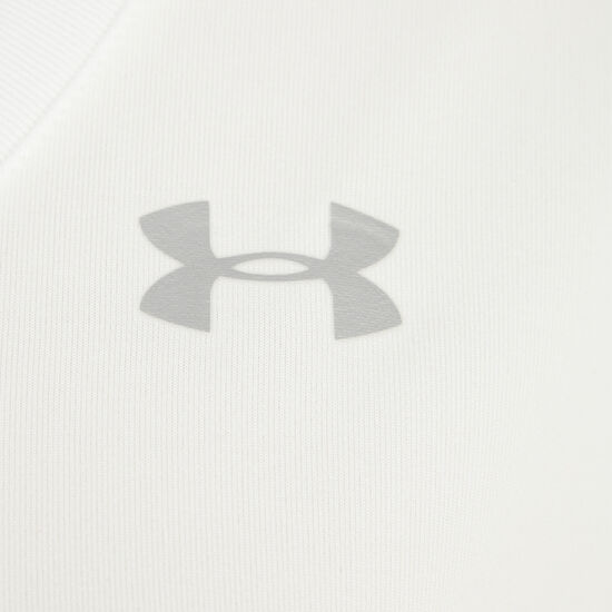 HeatGear Tech Solid Trainingsshirt Damen, Weiß, zoom bei OUTFITTER Online