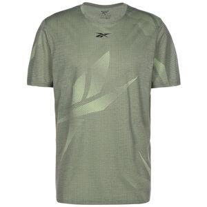 Workout Ready Allover Print Trainingsshirt Herren, grün / oliv, zoom bei OUTFITTER Online