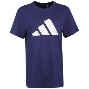 Future Icon Logo T-Shirt Damen, blau / weiß, zoom bei OUTFITTER Online