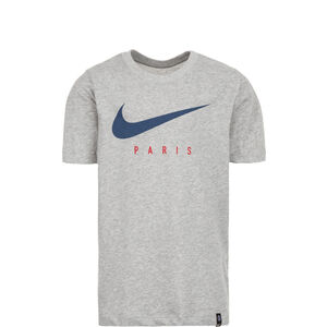 Paris St.-Germain Dry Ground T-Shirt Kinder, grau, zoom bei OUTFITTER Online