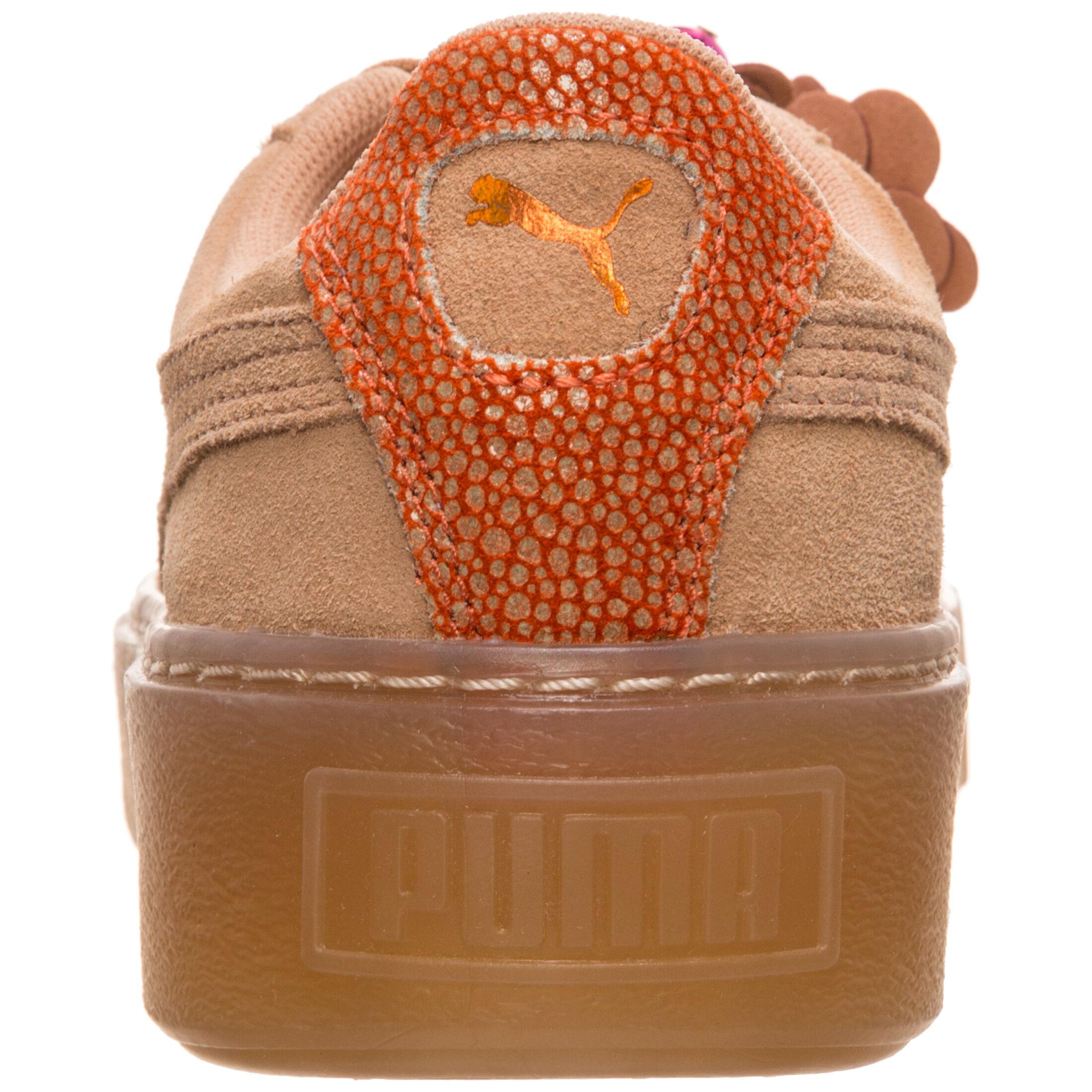 Puma Suede Platform Flower Tassel Sneaker Damen bei OUTFITTER