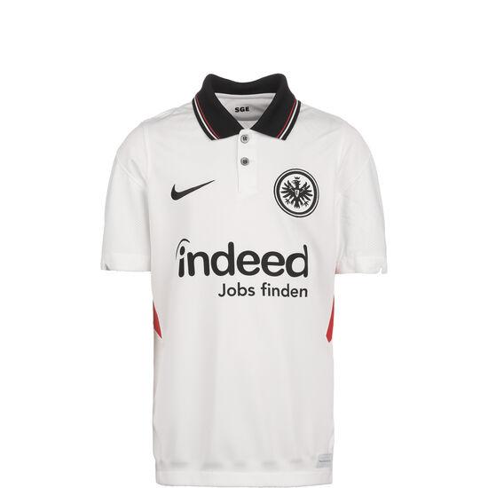 Frankfurt Trikot Away Stadium 2020/2021 Kinder, weiß / schwarz, zoom bei OUTFITTER Online