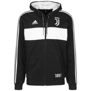 Juventus Turin Kapuzenjacke Herren, schwarz / weiß, zoom bei OUTFITTER Online