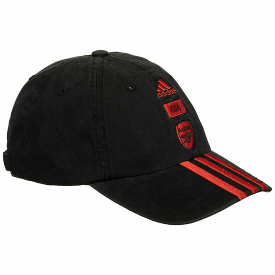 FC Arsenal X 424 Dad Cap, schwarz / rot, zoom bei OUTFITTER Online