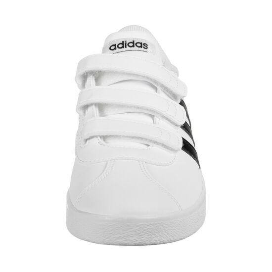 VL Court 2.0 CMF Sneaker Kinder, weiß / schwarz, zoom bei OUTFITTER Online
