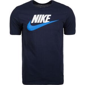 Futura Icon T-Shirt Herren, dunkelblau / weiß, zoom bei OUTFITTER Online