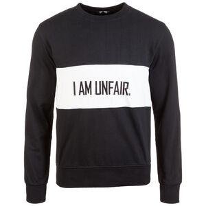 82d0e5e8b2395c I Am Unfair Sweatshirt Herren, schwarz / weiß, zoom bei OUTFITTER Online. Unfair  Athletics