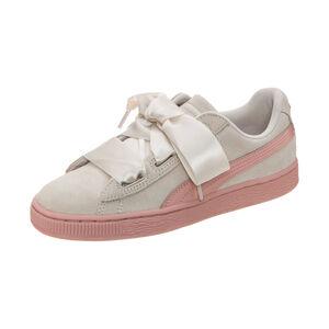 Suede Heart Jewel Sneaker Kinder, Beige, zoom bei OUTFITTER Online