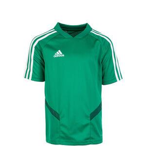 Tiro 19 Trainingsshirt Kinder, grün / weiß, zoom bei OUTFITTER Online