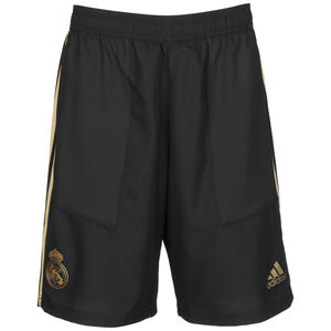 Real Madrid Woven Trainingsshort Herren, schwarz / gold, zoom bei OUTFITTER Online