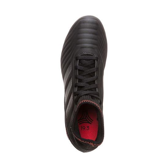 Predator 19.3 TF Fußballschuh Kinder, schwarz / rot, zoom bei OUTFITTER Online