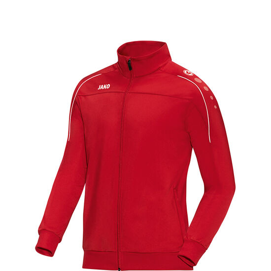 Classico Polyester Trainingsjacke Kinder, rot / weiß, zoom bei OUTFITTER Online