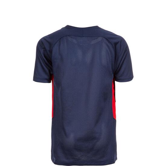 Dry Tiempo Premier Fußballtrikot Kinder, dunkelblau / rot, zoom bei OUTFITTER Online
