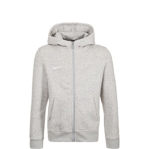 Team Club Trainingskapuzenjacke Kinder, Grau, zoom bei OUTFITTER Online