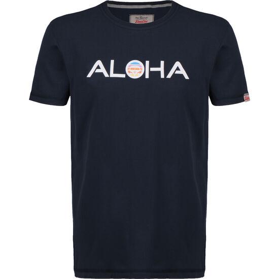 Aloha Retro VW Bulli T-Shirt Herren, dunkelblau, zoom bei OUTFITTER Online