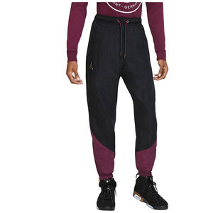Paris St.-Germain Anthem Trainingshose Herren, schwarz / bordeaux, zoom bei OUTFITTER Online