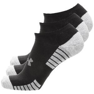 HeatGear Tech No Show Socken 3er Pack, schwarz, zoom bei OUTFITTER Online
