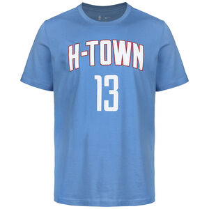 NBA Houston Rockets James Harden City Edition Essential T-Shirt, hellblau / weiß, zoom bei OUTFITTER Online