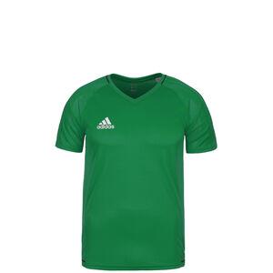 Tiro 17 Trainingsshirt Kinder, grün / weiß, zoom bei OUTFITTER Online