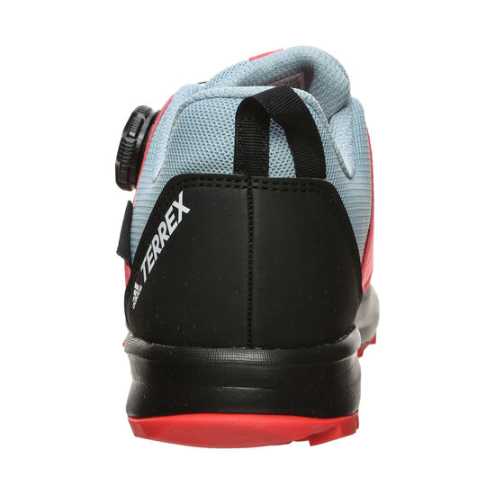 Terrex Agravic Boa Rain.Ready Laufschuh Kinder, grau / neonrot, zoom bei OUTFITTER Online